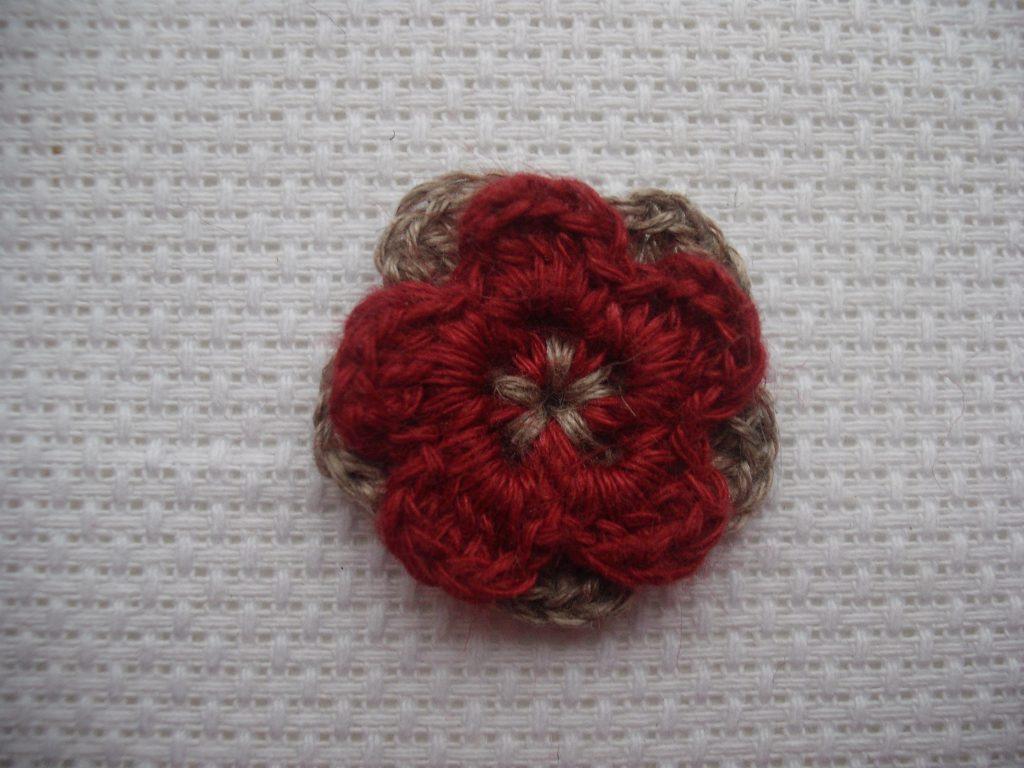Tiny layered flower